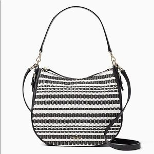 Kate Spade Cobble hill Mylie woven crossbody bag